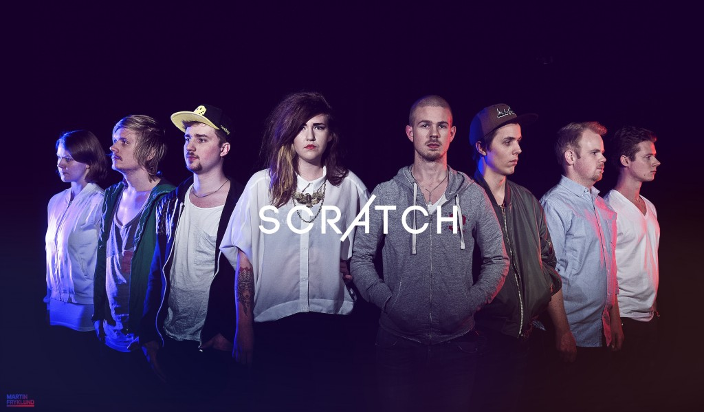 Scratch med logga